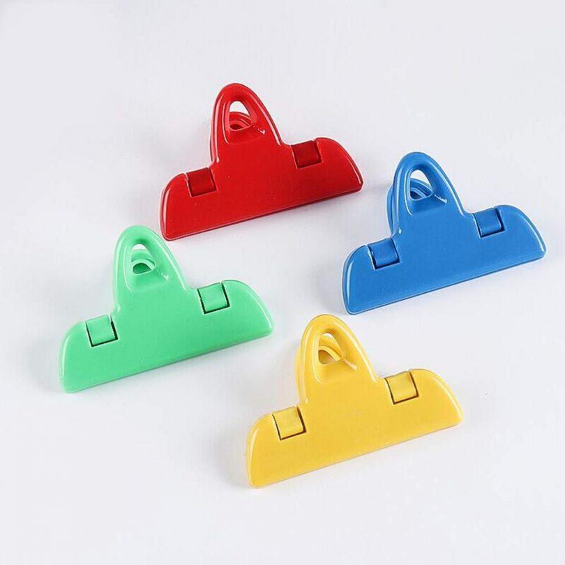 Bag Clips 4Pcs Air Tight Gadgets Kitchen Storage Clamp