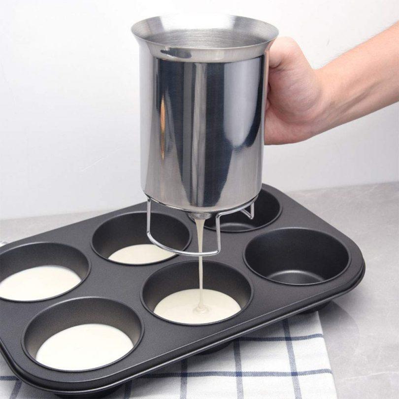 Stainless Steel Pancake Cupcake Batter Dispenser