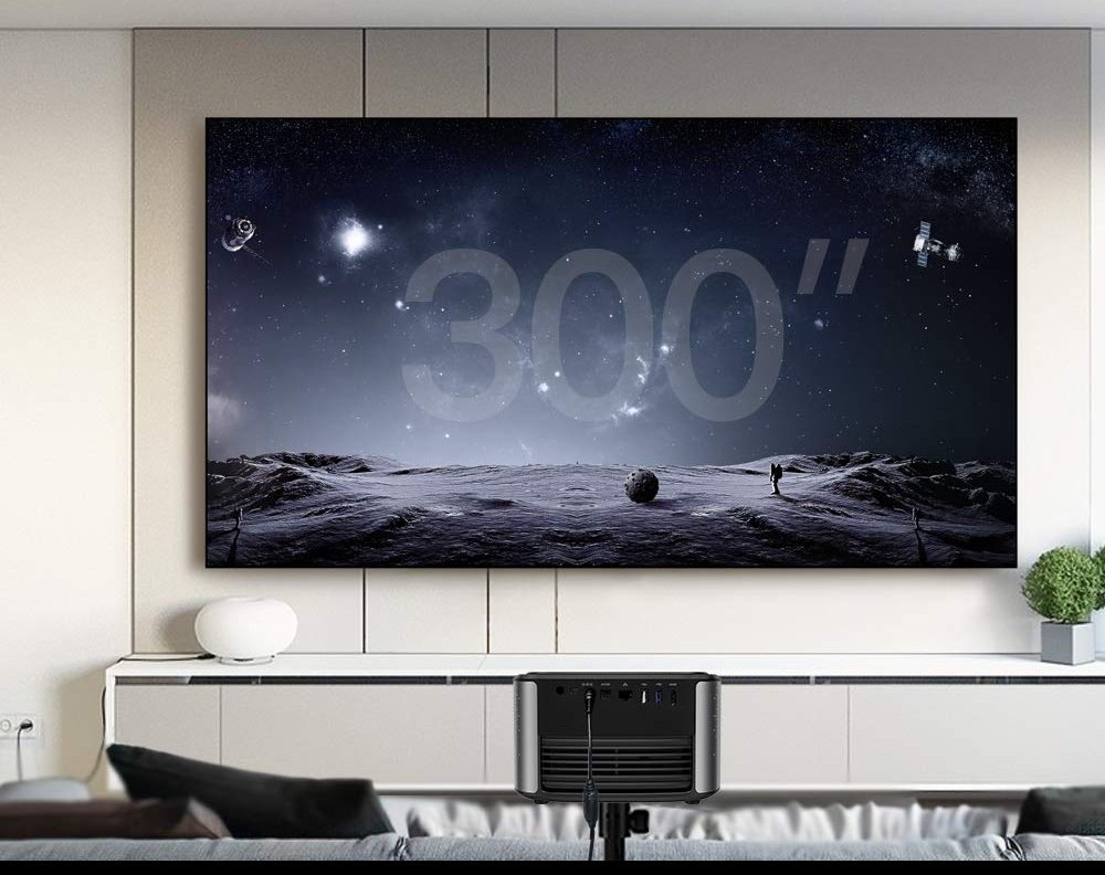 JMGO N7 Native 1080P Full HD 4K Projector