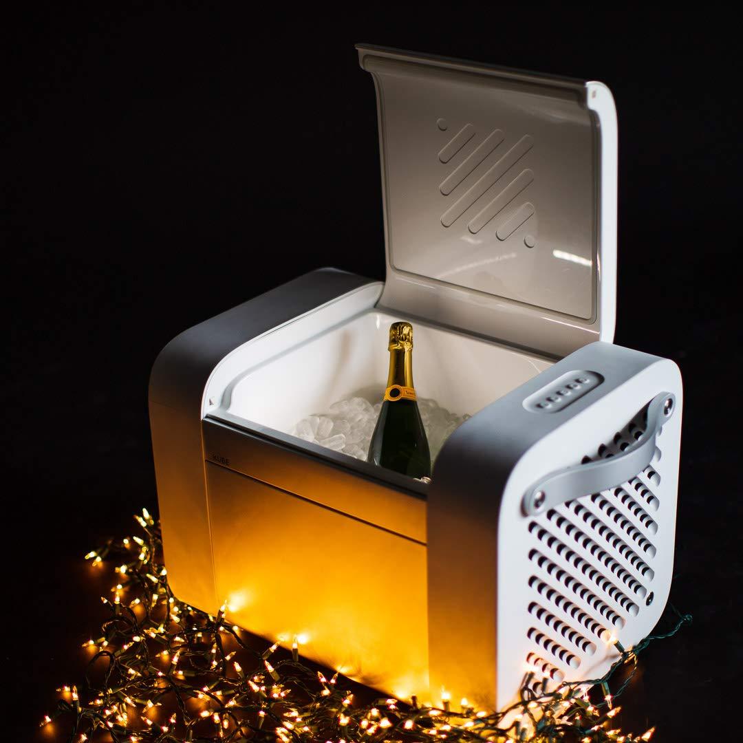 KUBE Bluetooth Speaker with 37qt Cooler Storage