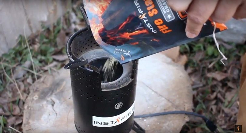 Instafire Inferno Outdoor Biomass Stove
