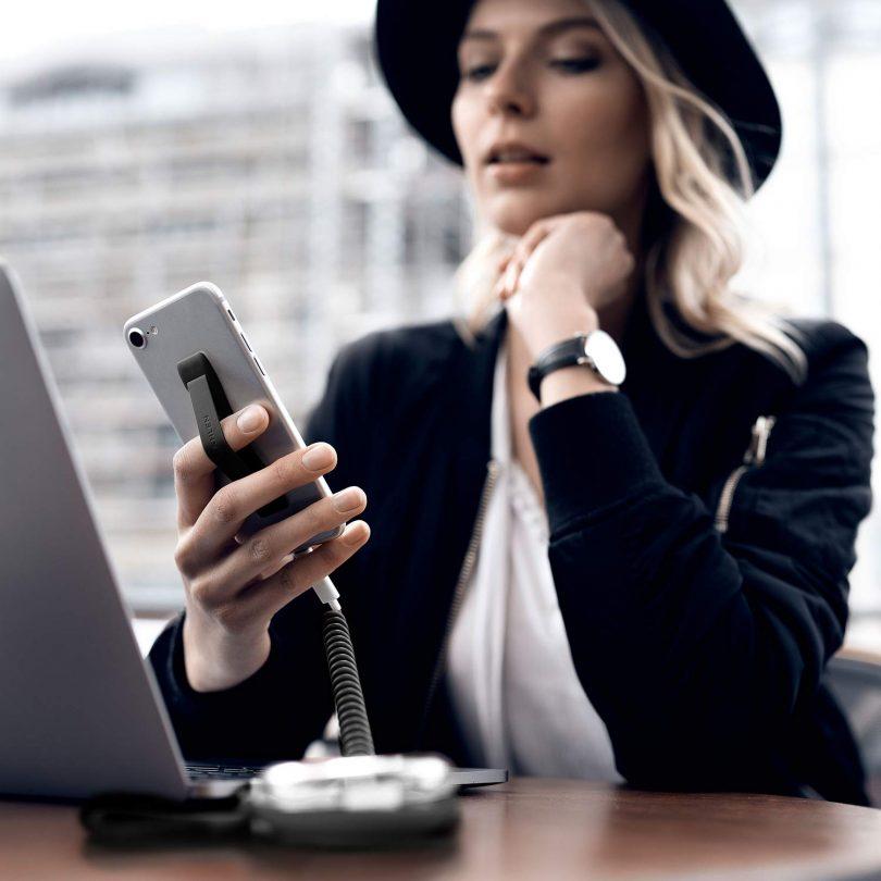 VONMÄHLEN Backbone Signature — Smart Phone Strap