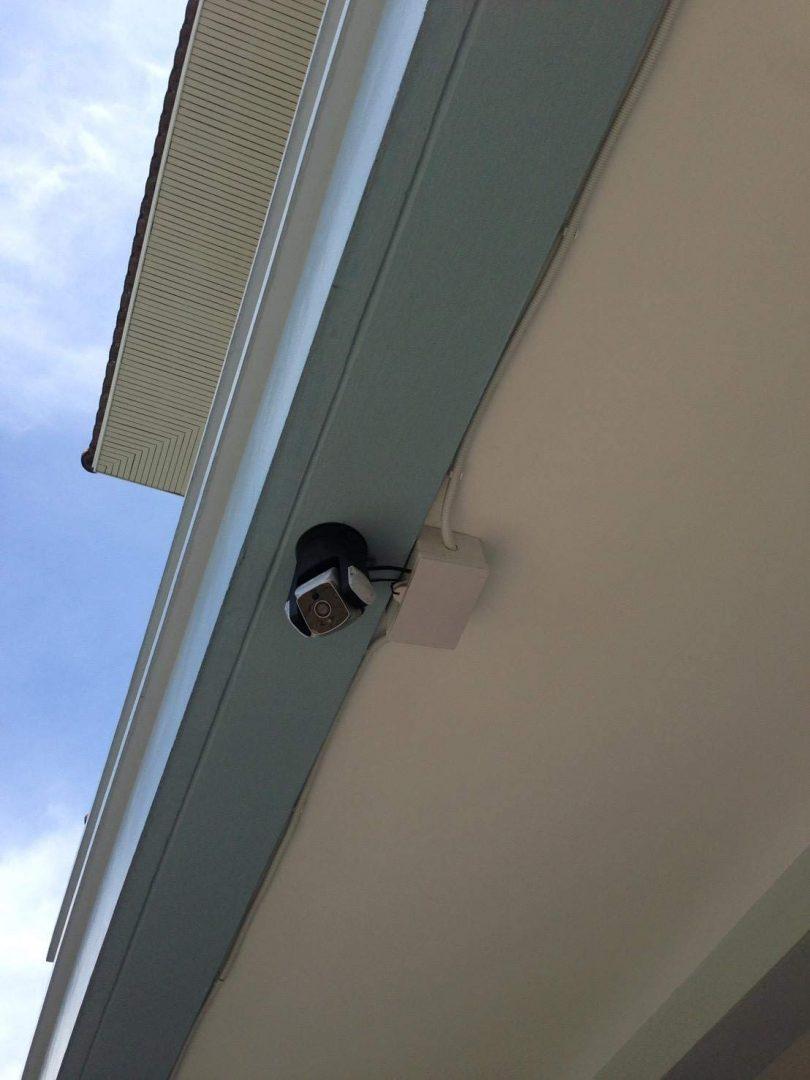 Amaryllo Triton: Biometric Auto Tracking Outdoor Light Bulb PTZ Wi-Fi Security Camera