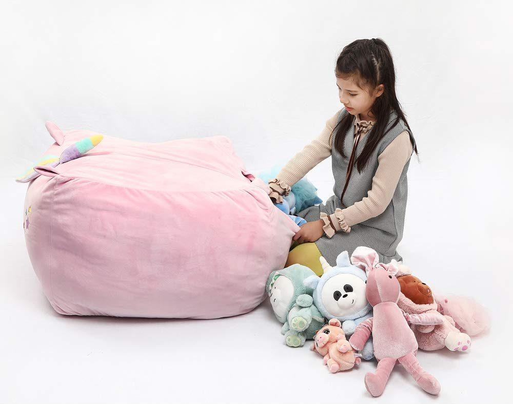 Unicorn Stuffed Animal Toy Storage