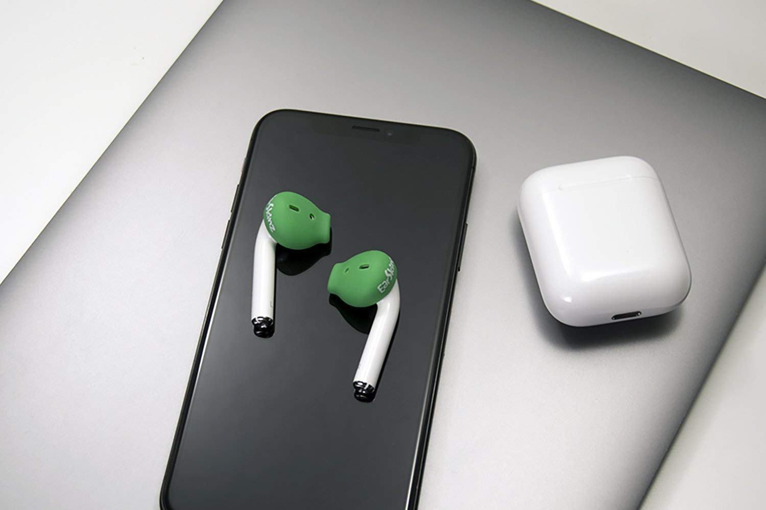 EarSkinz ES3 Covers for Apple AirPods (Green)