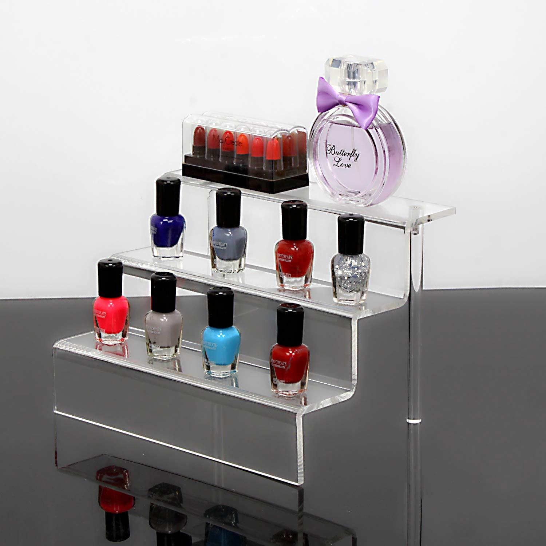 NIUBEE Acrylic Riser Stand Shelf for Amiibo Funko Pop Figure Display
