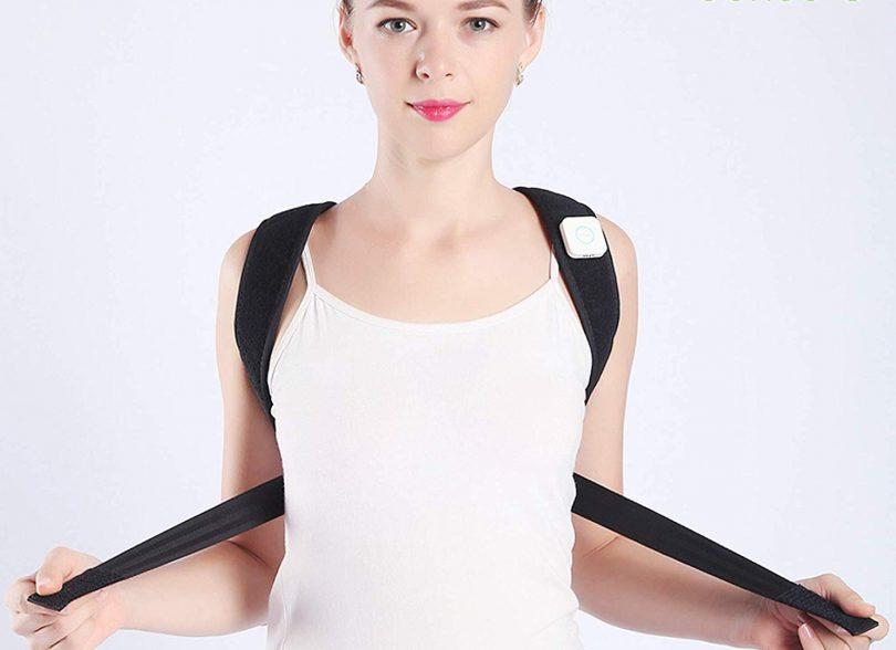 Sense-U Smart Wearable Posture Trainer Brace That Vibrates When You Slouch