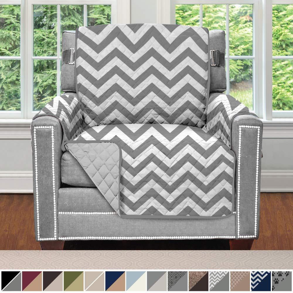 Sofa Shield Original Patent Pending Reversible Chair Protector