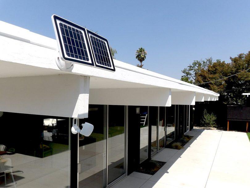 Lynx Solar Weatherproof Outdoor Wifi Surveillance Camera With Solar Panel