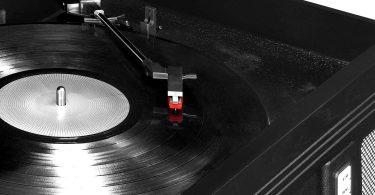 Victrola Aviator: 8-in-1 Bluetooth turntable, Black