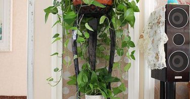 European Flower Rack Wrought Iron Multi Layer Indoor Floor Standing Green Flower Shelf