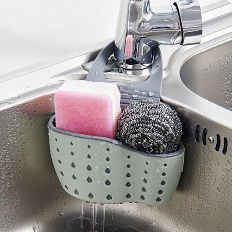 Sink Caddy Sponge Holder Soap Holder