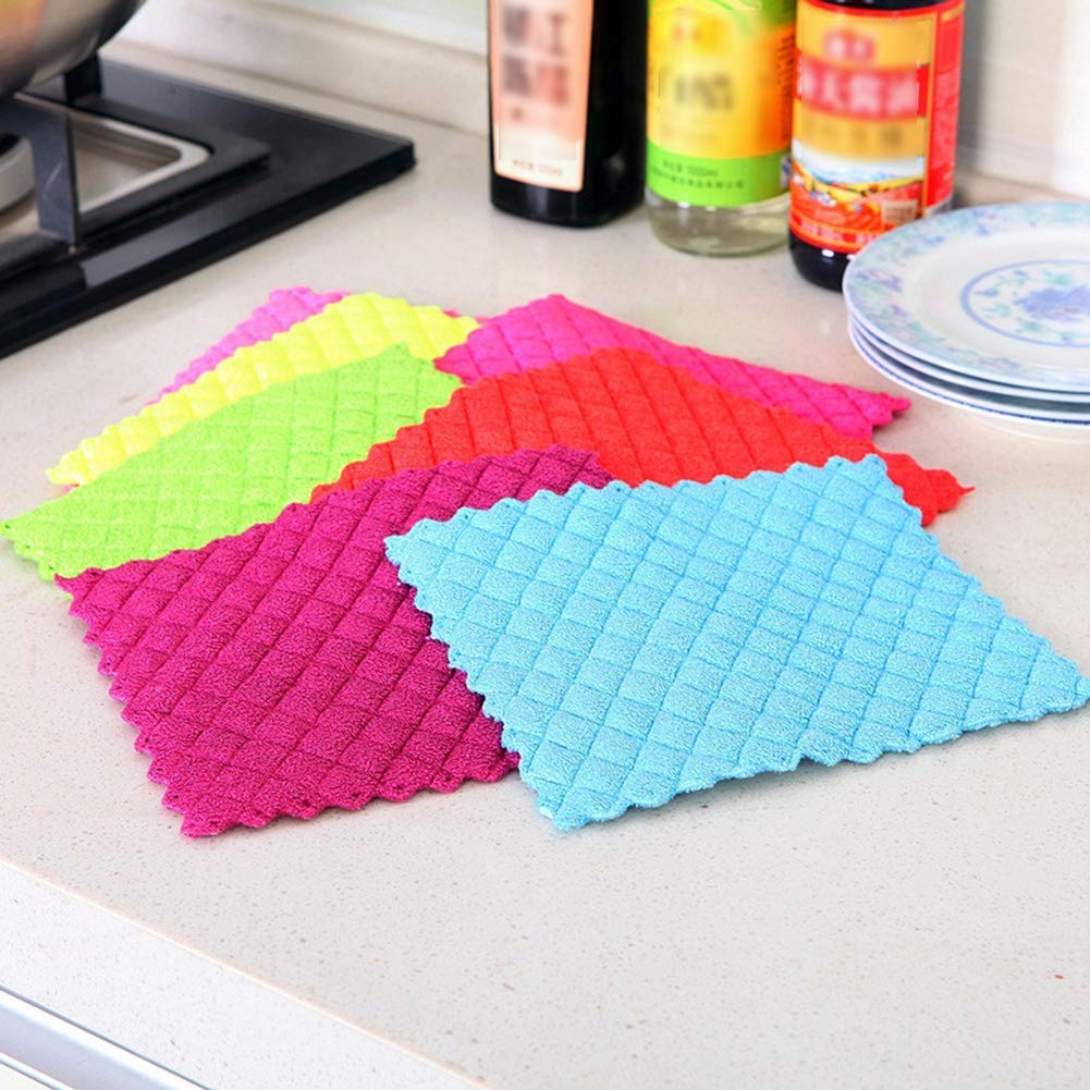 Cleaning Cloth Suqare Shape Tools Eco-Friendly