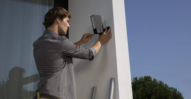 Smart Outdoor Security Camera with Integrated floodlight – Netatmo Presence