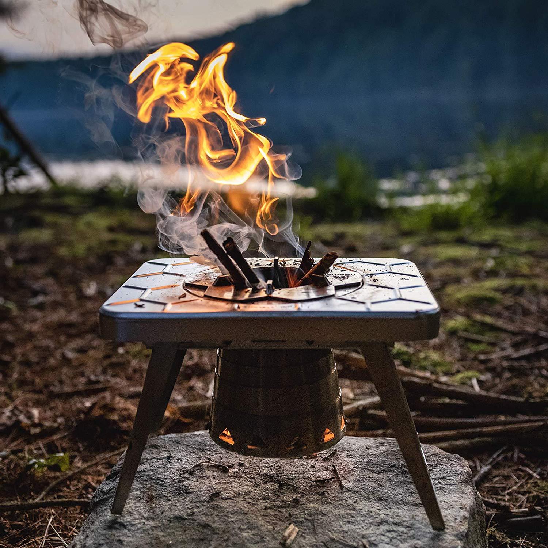 nCamp Wood Burning Camping Stove