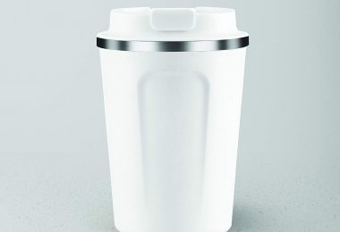 Asobu Coffee Compact Vacuum Insulated Travel Mug with Spill Proof Lid 13 Ounce