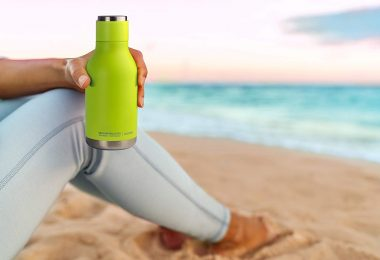 asobu Urban Insulated and Double Walled Stainless Steel Bottle