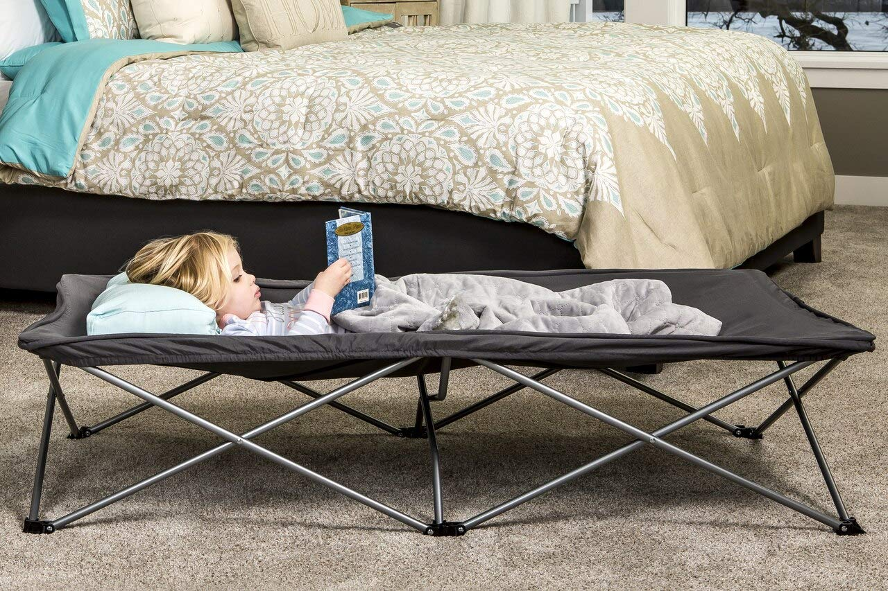 Regalo My Cot Extra Long Portable Bed, Includes Fitted Sheet