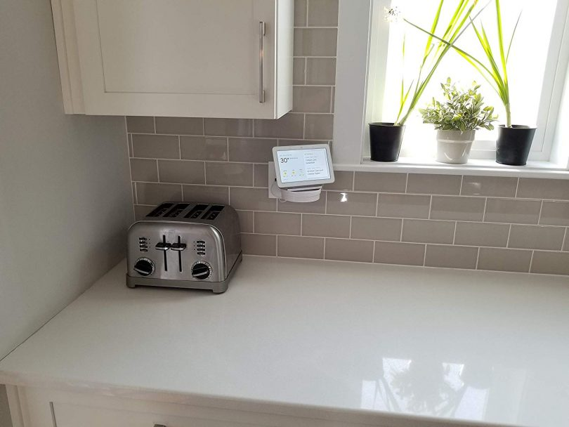 The Google Home Hub Nest Hub Mount for Kitchen and Bathroom Outlets