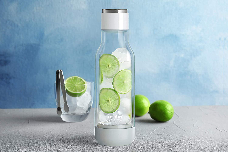 Asobu Inner Peace Glass and Tritan Encased Travel Water Bottle