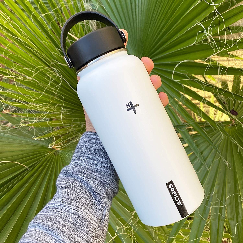 GOFILTR Alkaline Water Bottle Hydration Kit