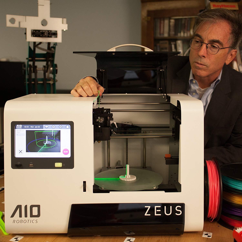 AIO Robotics Zeus All-In-One 3D Printer