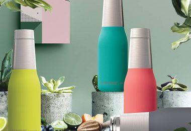 The Asobu Oasis Vacuum Insulated Double Walled 20oz Water Bottle