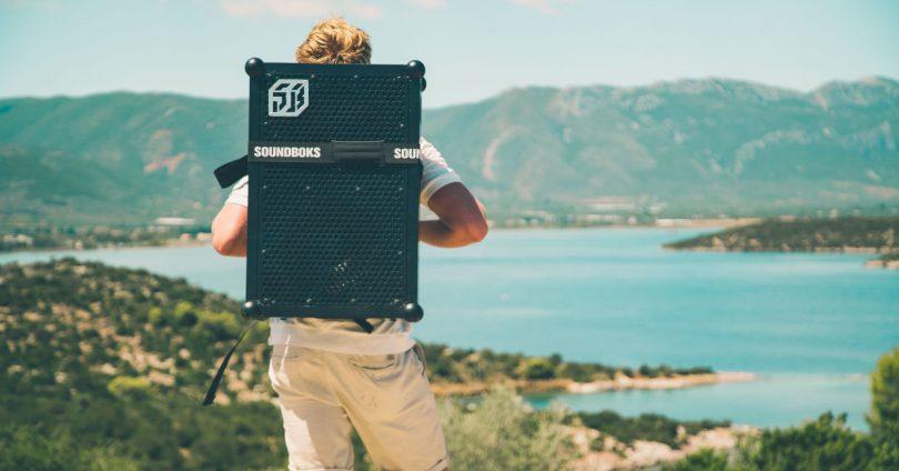 Backpack for SOUNDBOKS