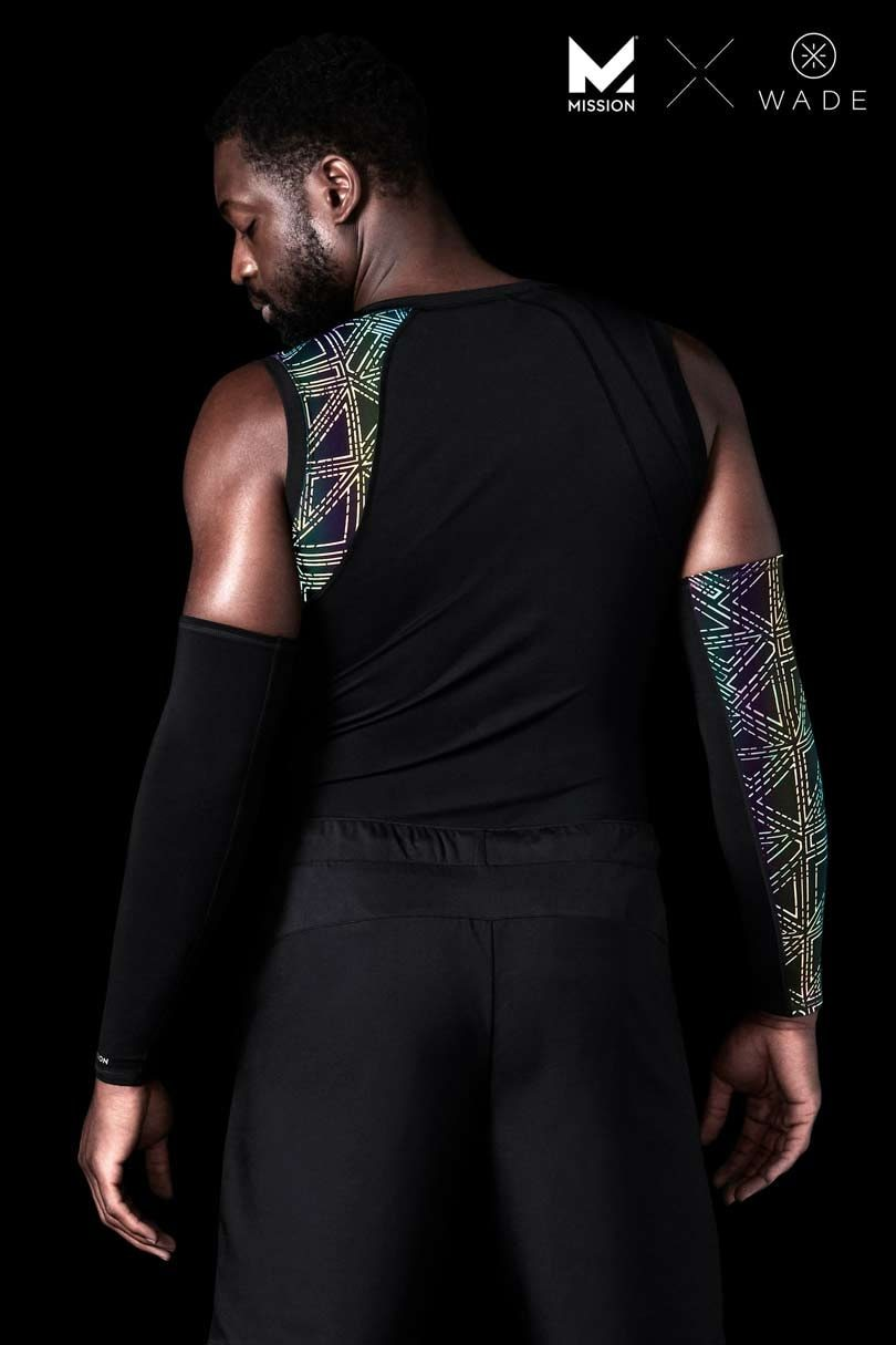 Mission X Wade Collection Men's Sleeveless Compression Shirt