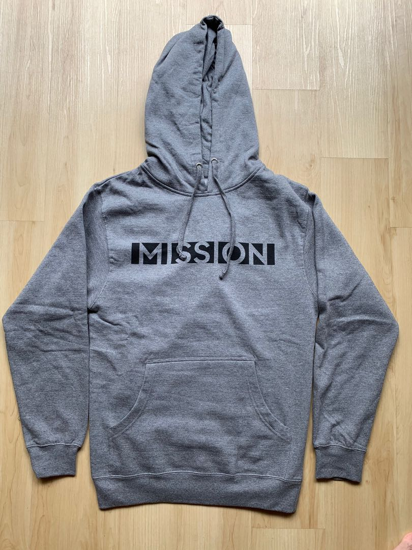 Mission Men's Pullover Fleece Hoodie