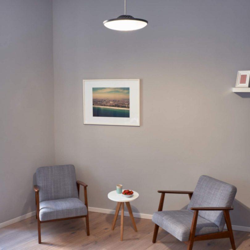 Luke Roberts 'Model F' Gray – Smart LED Pendant