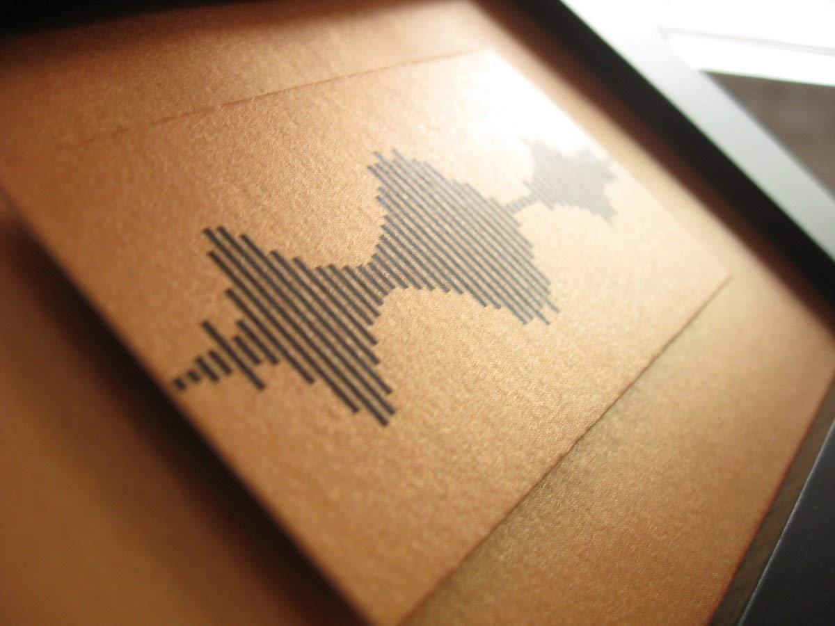 I Love You Soundwave Art