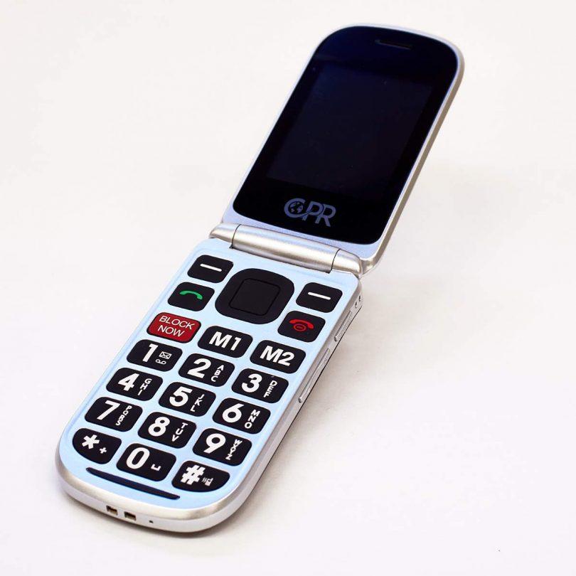 CPR CS900 Flip Cell Phone For Seniors » Petagadget