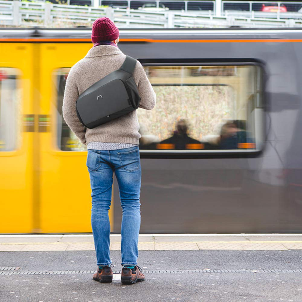 NIID sling bag waterproof bag with laptop sleeve