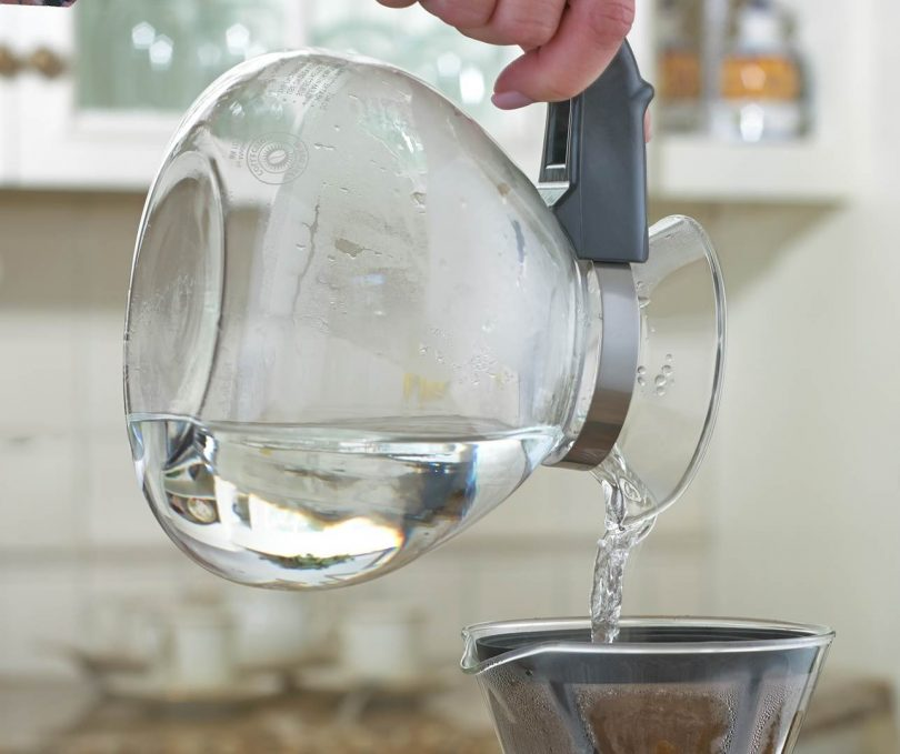 CAFÉ BREW COLLECTION 12 Cup Stovetop Whistling Tea Kettle