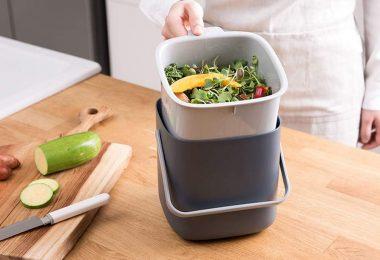 Litem Food Waste Bin with Handle