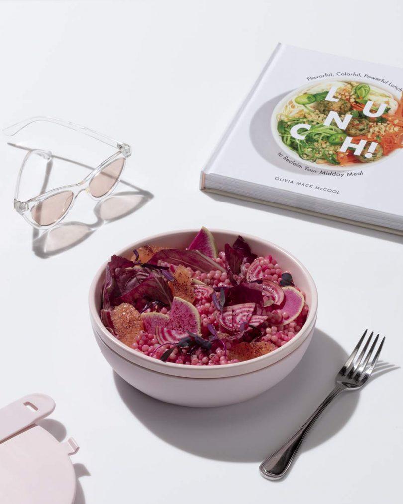 W&P WP-PBC-BL Ceramic Porter Bowl Lunch Container