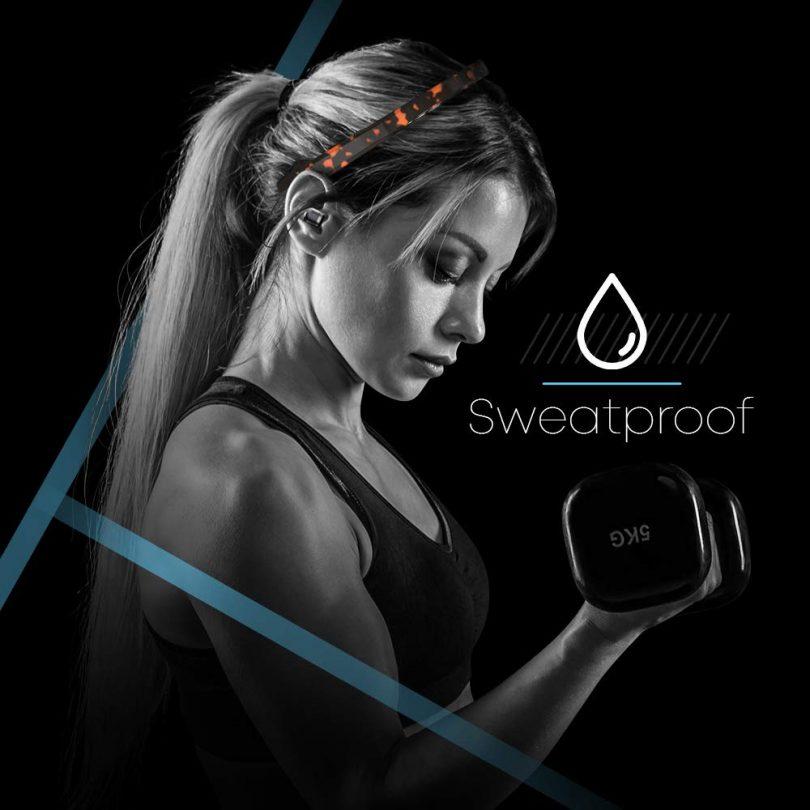 Paww SilkSoundX Bluetooth Workout Headphones
