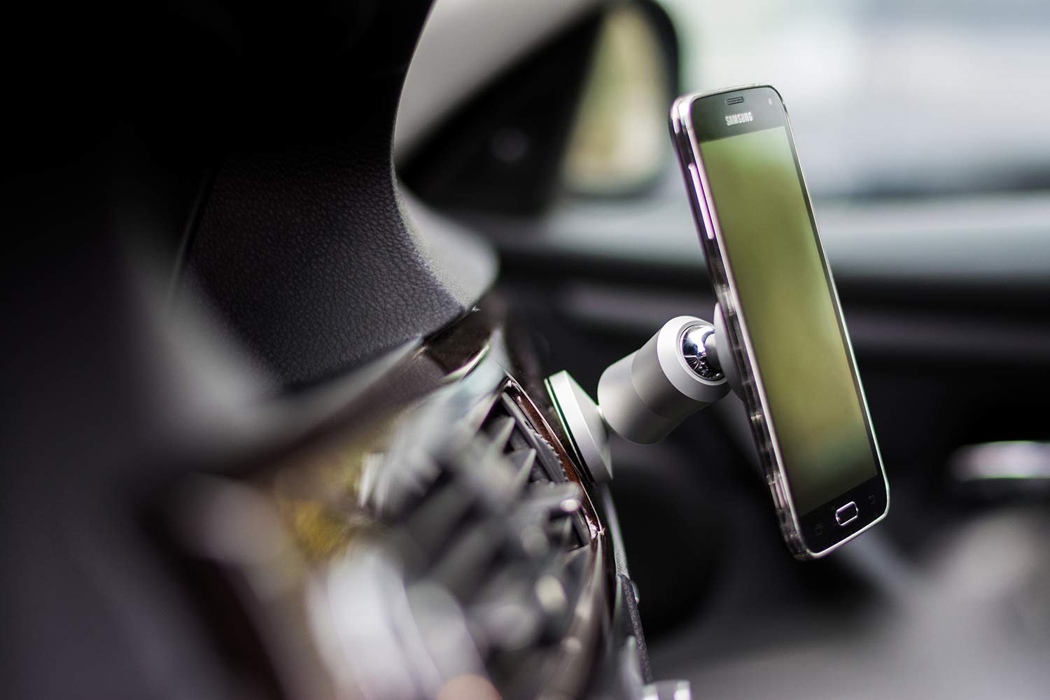 ClutchIt The Original Dual Magnetic Movable Phone Holder and Tablet Mount