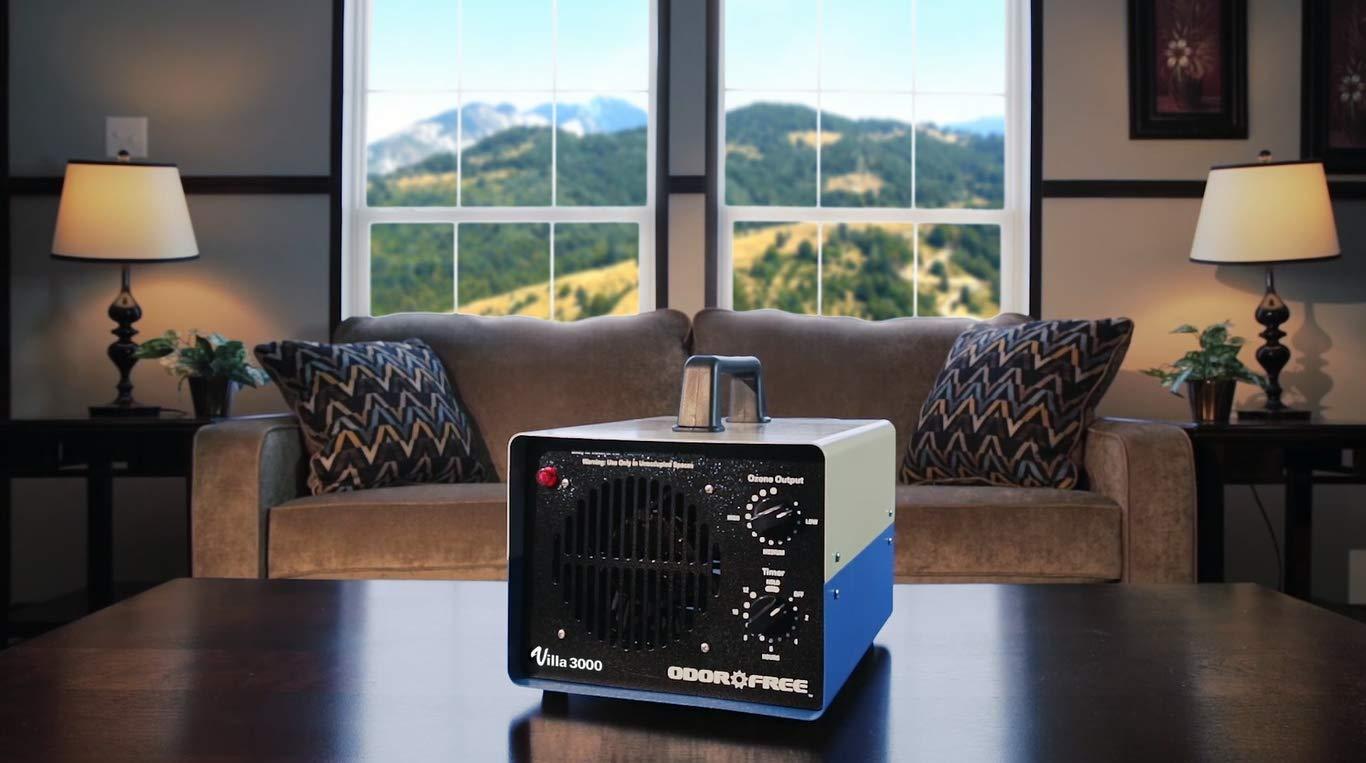 OdorFree Villa 3000 Ozone Generator for Killing Mold