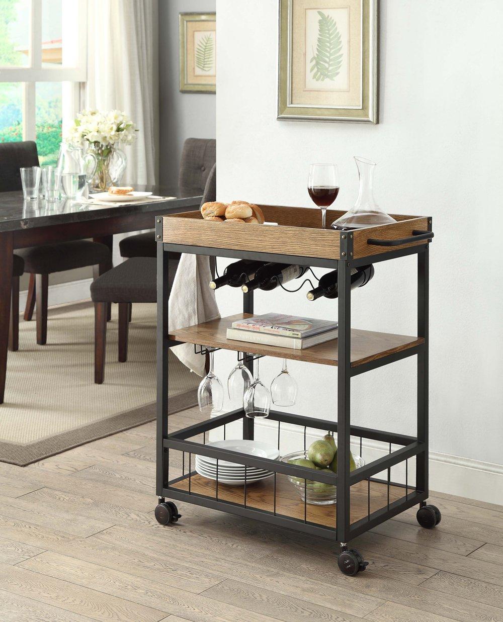 Linon Austin Kitchen Cart