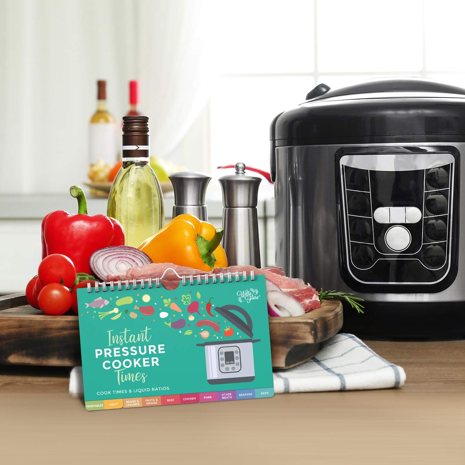Electric Pressure Magnetic Cooker Cook Times Cheat Sheet