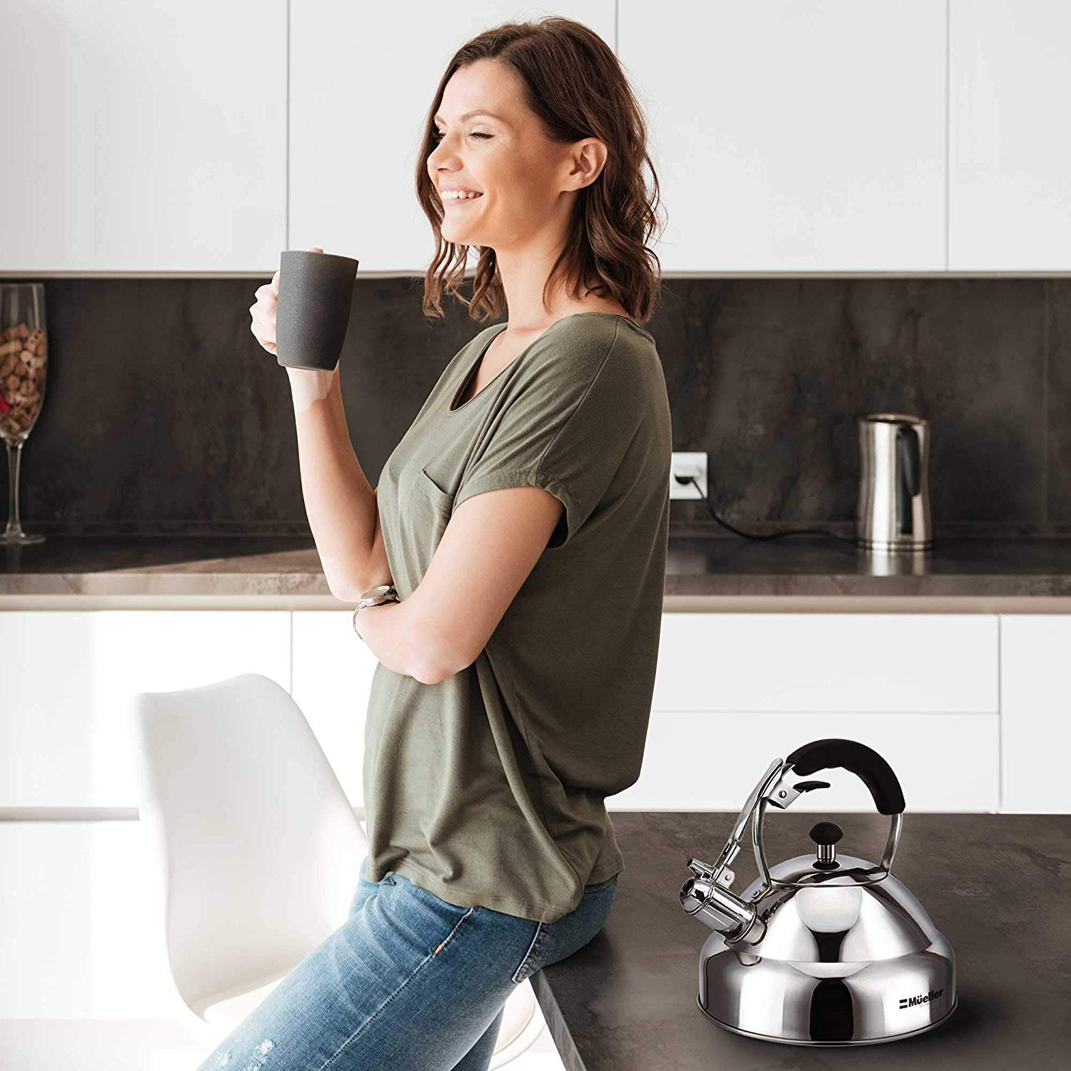 Stove Top Whistling Tea Kettle