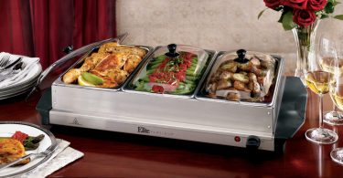Elite Platinum EWM-6171 Triple Server Food Warmer