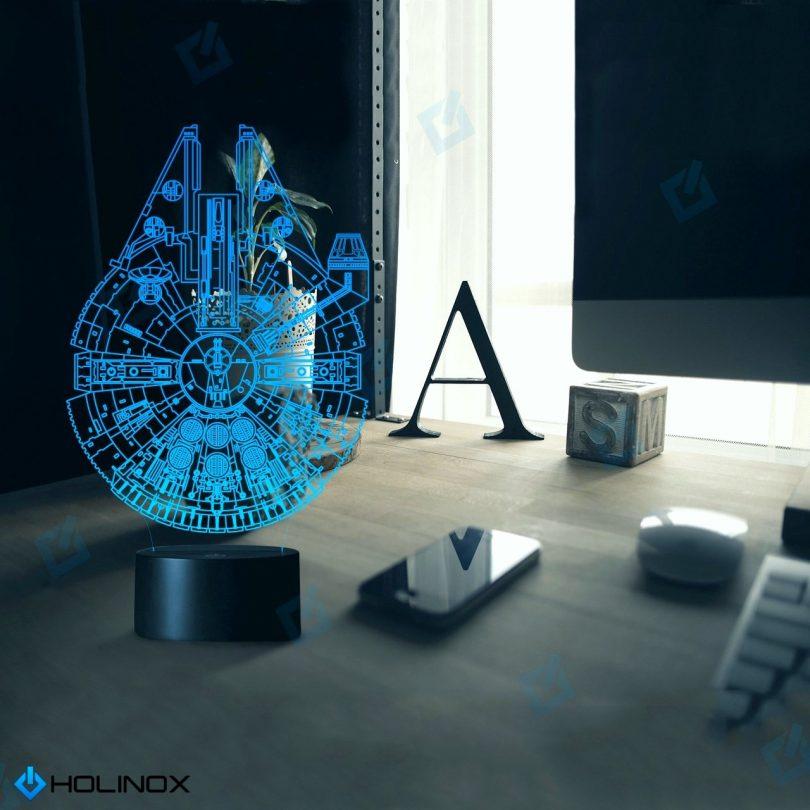Holinox Star Wars Millennium Falcon 3D Lamp Gadget Gift