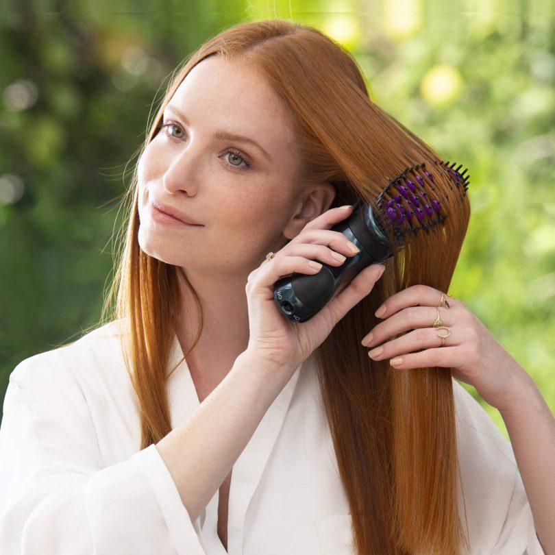 DAFNI Allure Portable Hair Straightening Brush