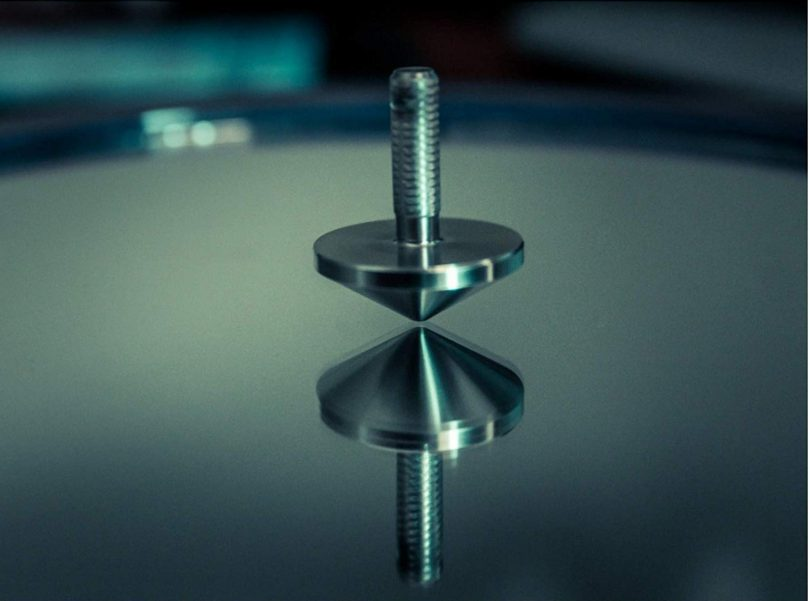 EDC Keychain Spinning Top + Snaphook