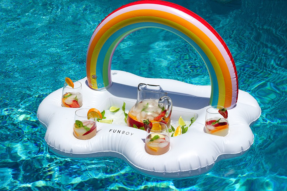 FUNBOY Luxury Inflatable Drinks Holder Float Pool Parties and Entertainment