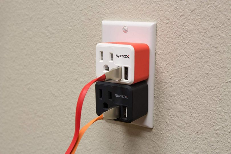 PowX2 Wall Outlet with 2 USB Ports