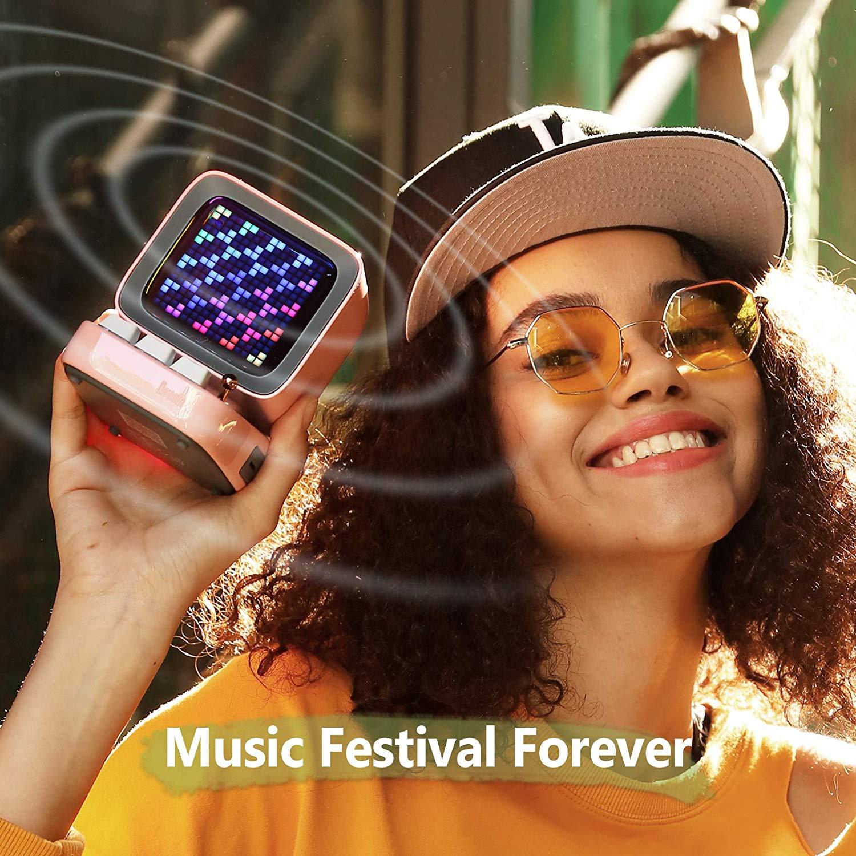 Divoom Ditoo Retro Pixel Art Game Bluetooth Speaker